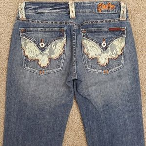 Miss Me Boot Cut Jeans Size 28   MM1